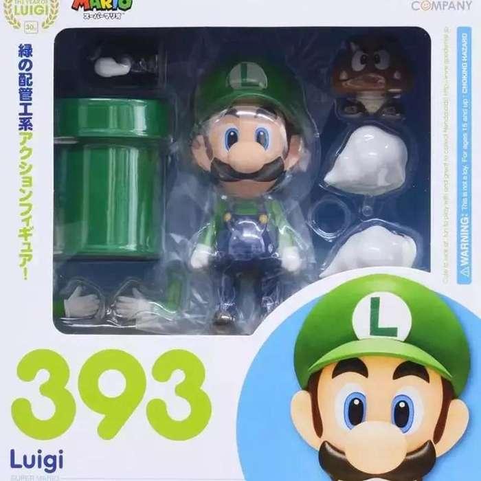 Figura de Coleccion nenderoid Luigi 393
