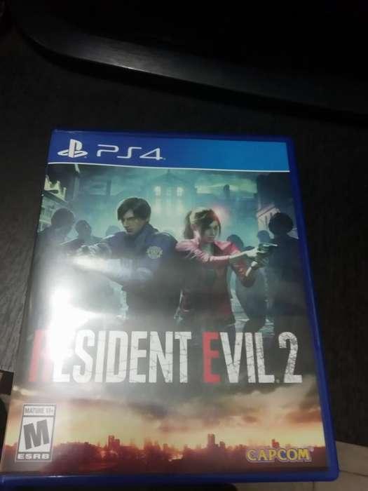 Vendo Resident Evil 2 Casi Nuevo