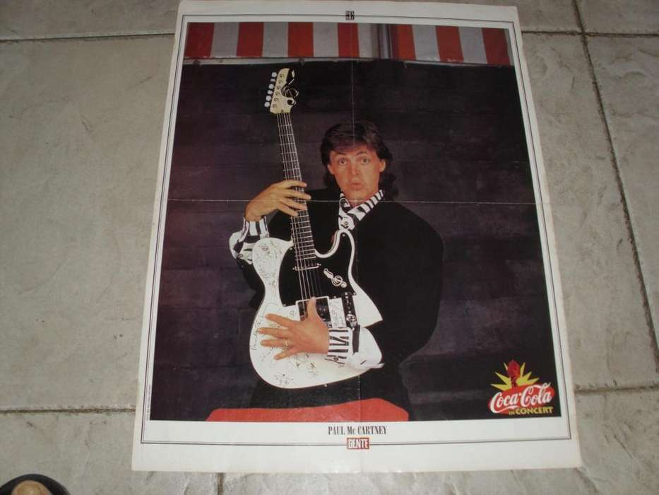 Paul Mc Cartney Poster