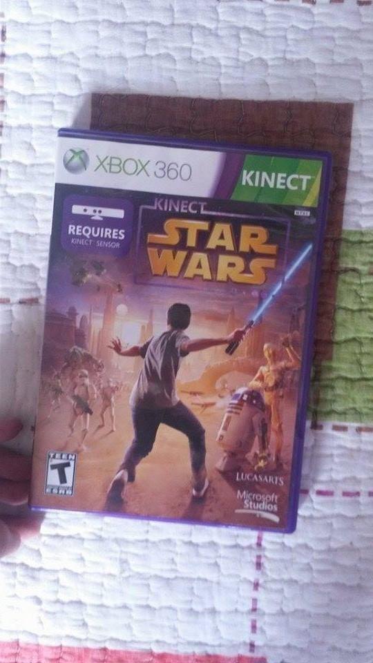 Juego Orginal Xbox 360 Star Wars Kinect