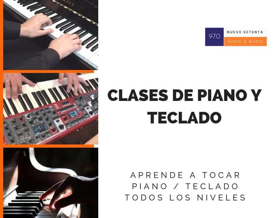 TECLADO / PIANO clases