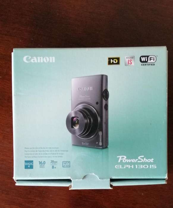Venta de Camara Canon Powershot Elph130i