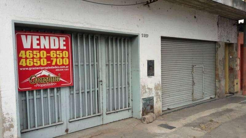VENTA DE LOCAL COMERCIAL CON GALPÓN INTERNO - ALVEAR 5500