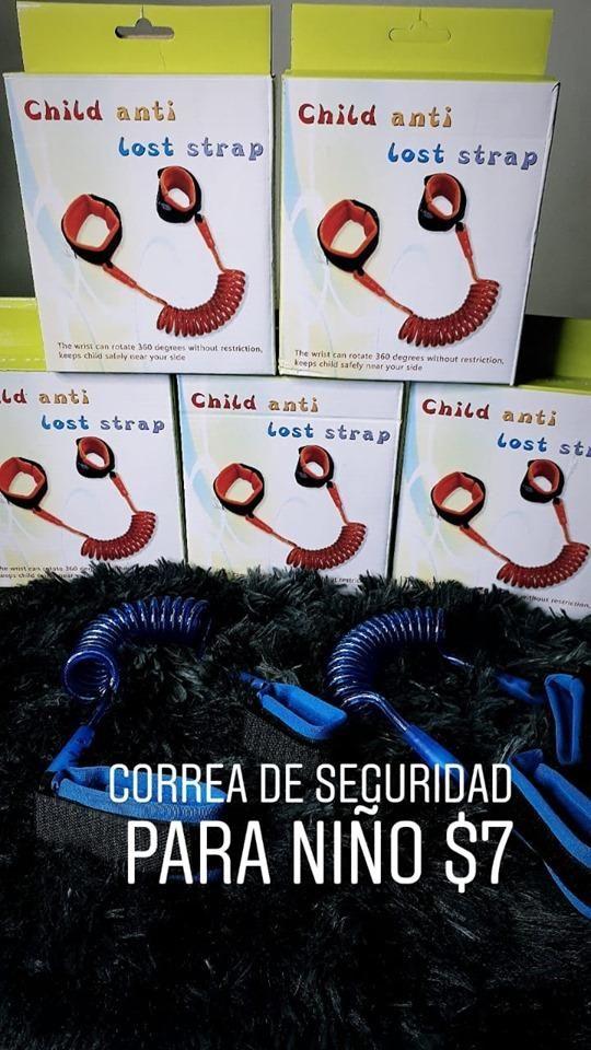 CORREA DE SEGURIDAD PARA NIÑOS Y NIÑAS