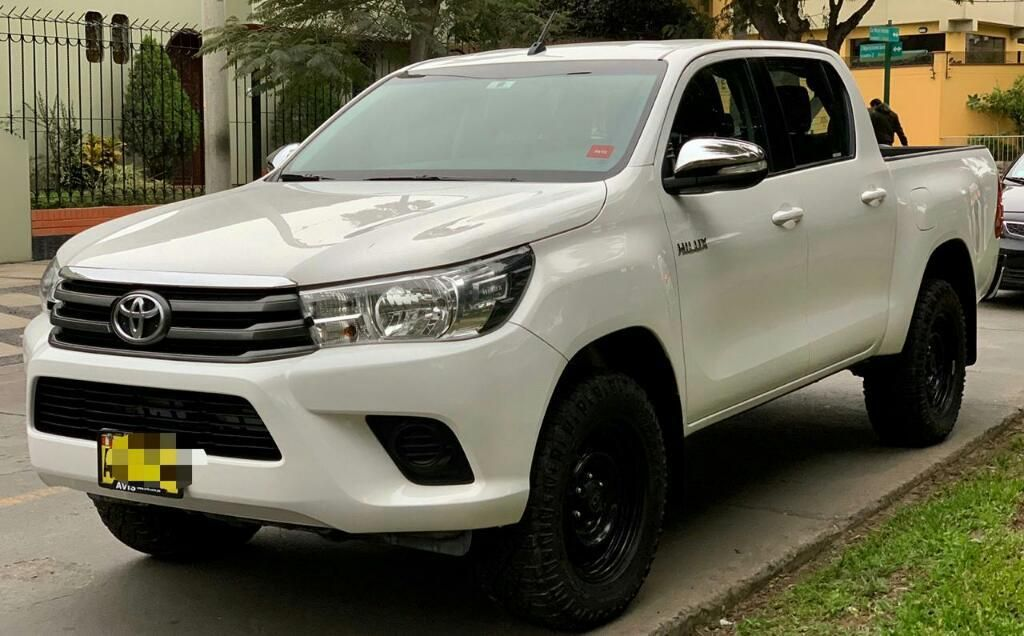 Toyota Hilux 2016 Fabricación 4x4