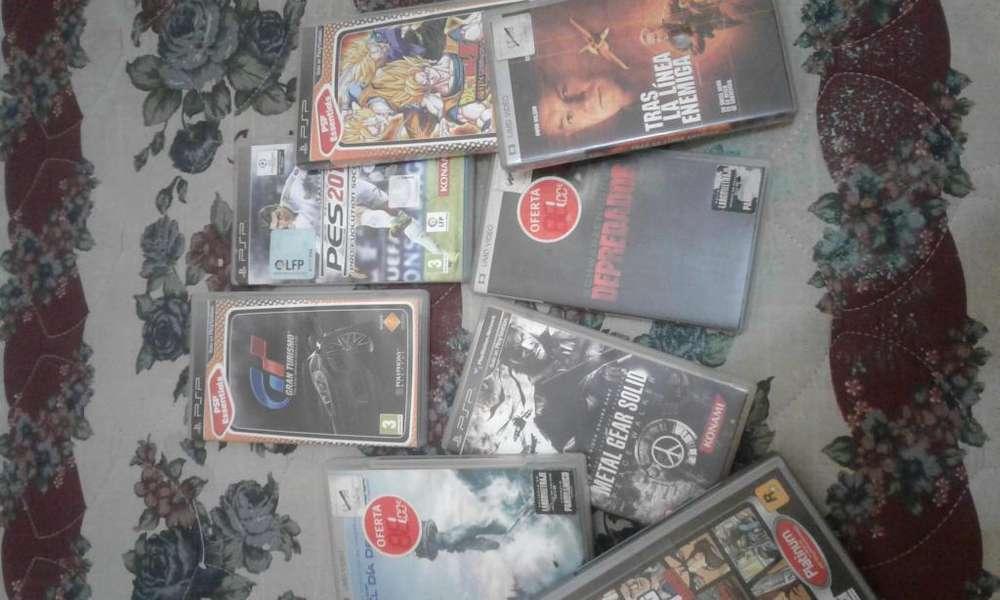 Se vende juegos y peliculas para PSP