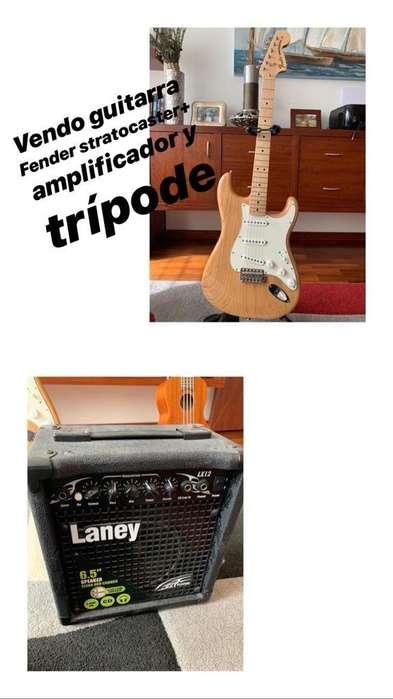 <strong>guitarra</strong> Fender Stratocaster