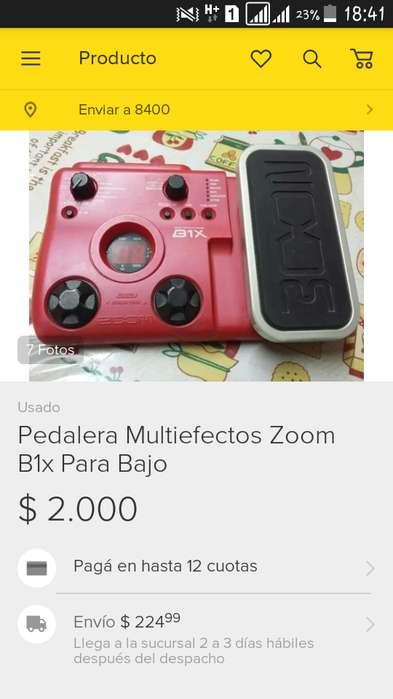 Pedalera Multiefectos ZOOM B1X