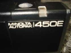 Camara De Fotos Minolta Autopak 450e A Revisar No Envio