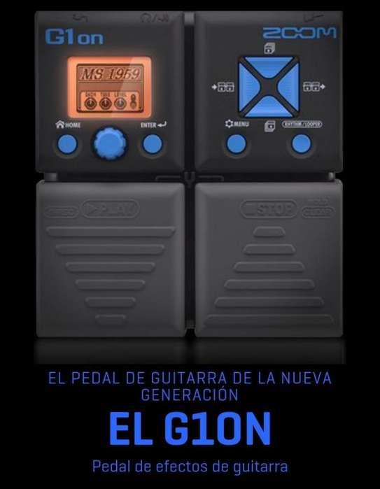 Pedalera Zoom G1on Nueva