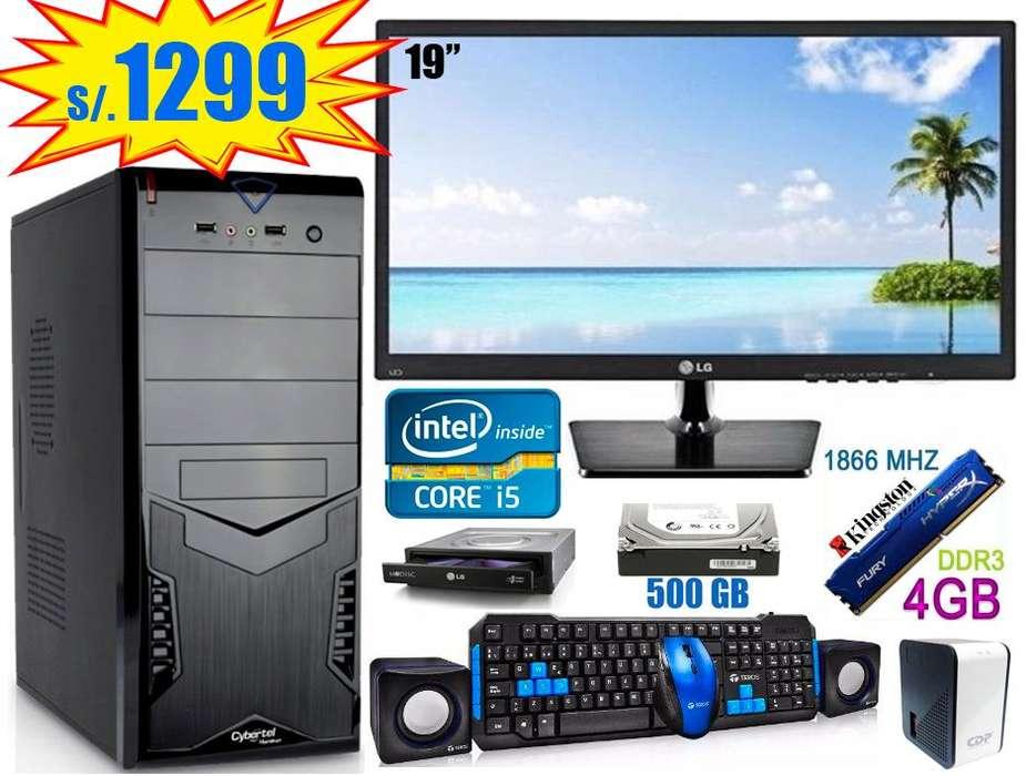 CPU o PC Intel Core I5, 4 u 8GB RAM, Todo Nuevo!