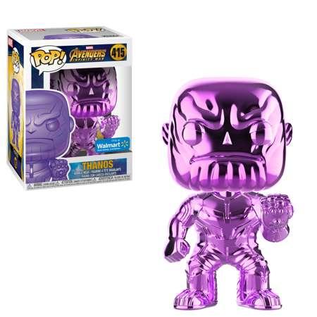 Funko Pop Thanos Chrome Purple(morado) Wallmart Exclusive