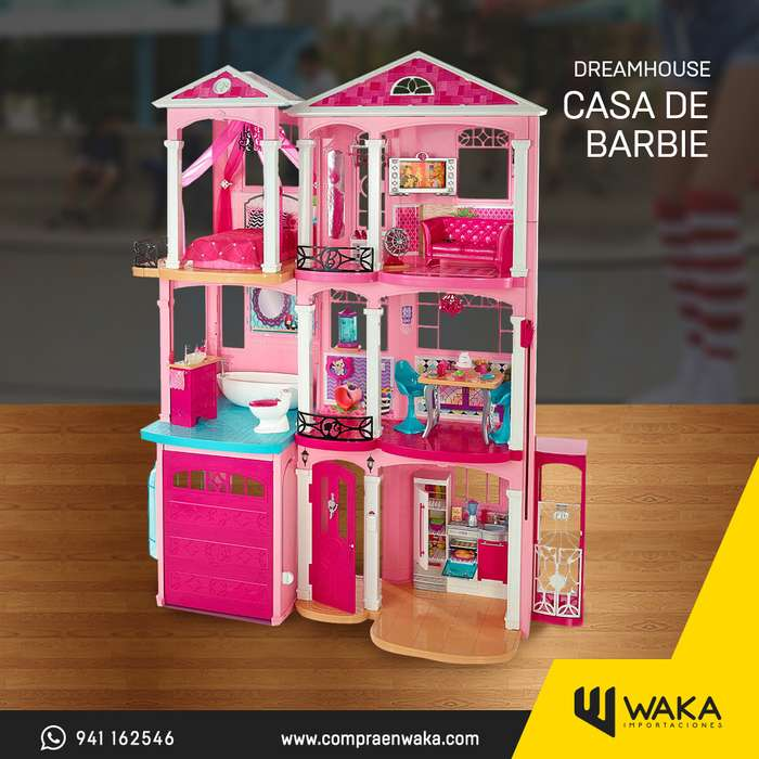 Casa Barbie De los Sueños Original Con accesorios Tenemos Tienda