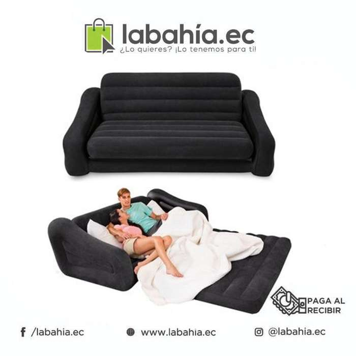 <strong>sofa</strong> Cama Inflable INTEX 2 Plazas