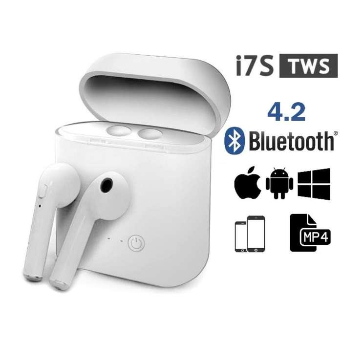 Auriculares Bluetooth I7s Tws