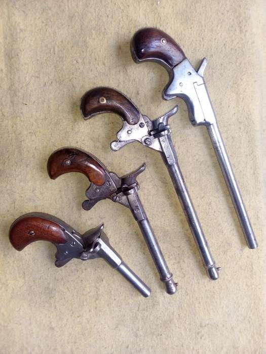 Pistolitas de salon LOTE 44000.-