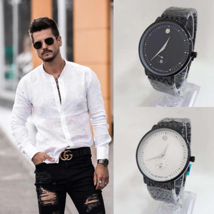Reloj Hombre Semicasual Movado Outfit DTEMPORADA