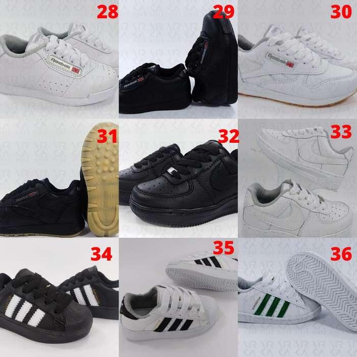 Tenis Zapatillas para Niños y Niñas Envío y Obsequio GRATIS