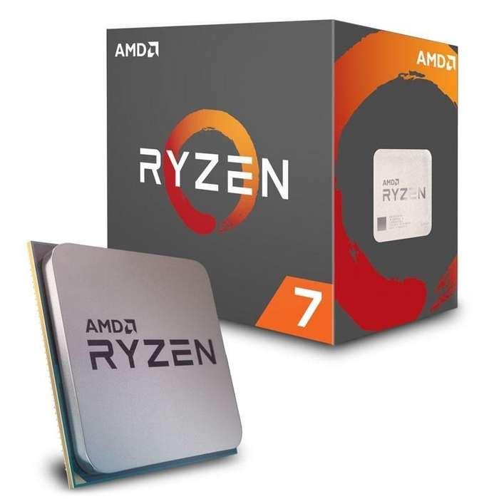 Procesador Ryzen R7-2700X