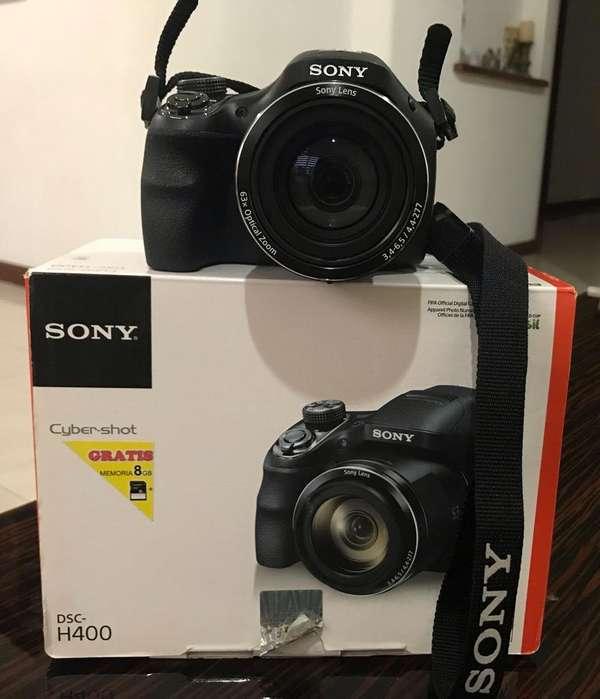Camara <strong>sony</strong> Cyber-Shot Dsc-H400 Zoom 63X
