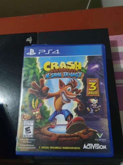 Crash A crash Ps4