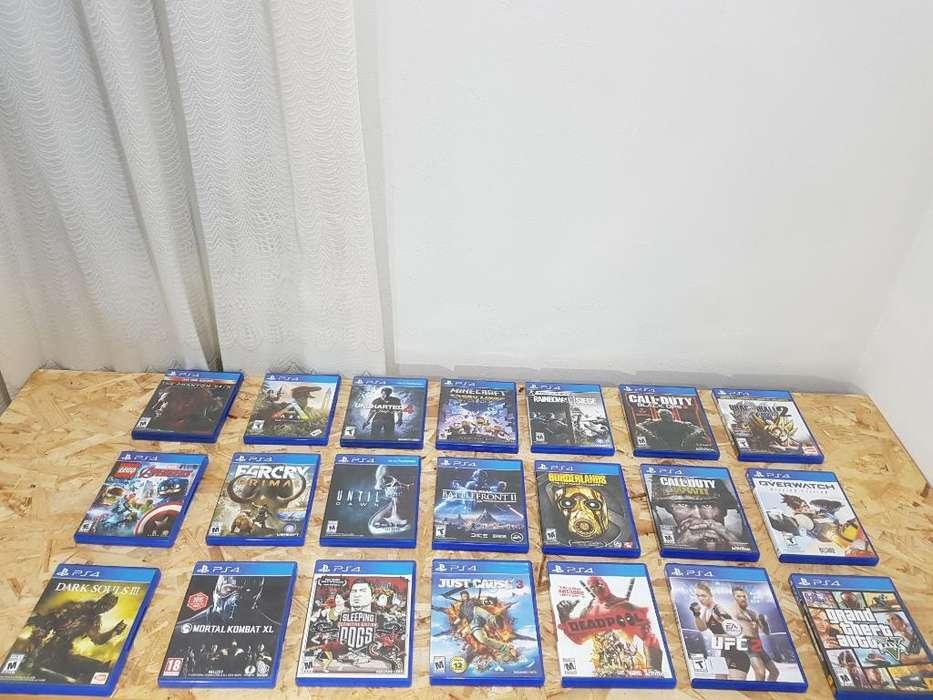 Juegos Playstation 4 Ps4