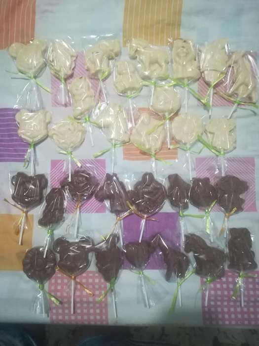 Paletas de Chocolatinas