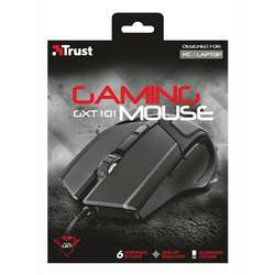 MOUSE TRUST GAMER GXT 101 ALAMBRICO USB