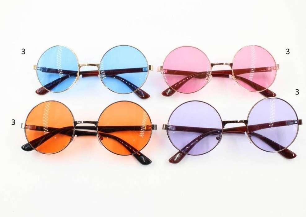 Gafas Redondas Retro Y Piloto para Sol
