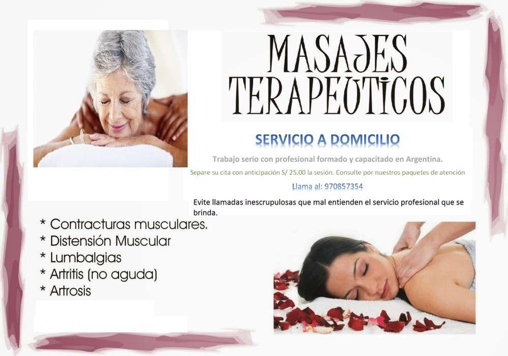 FISIOTERAPEUTA EN CASA - MASAJES TERAPÉUTICOS: SERVICIO A DOMICILIO