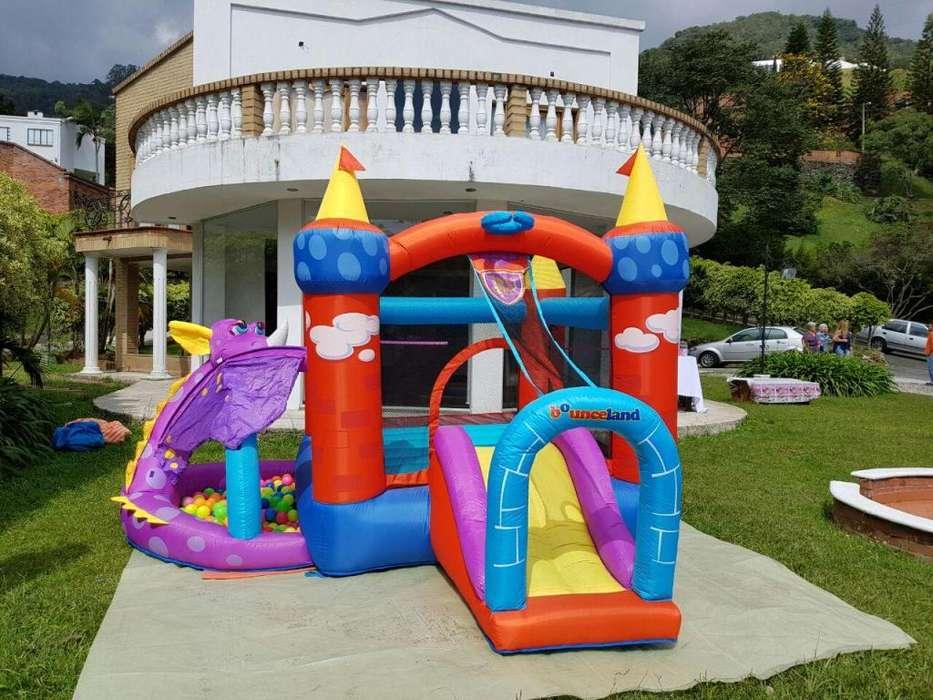 organizador de eventos infantiles y alquiler de inflables