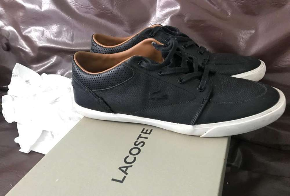 Zapatillas Lacoste Originales Cuero 43