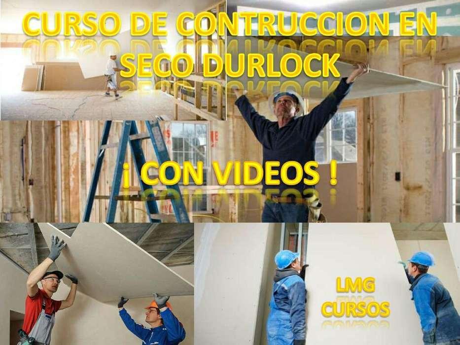 Curso de Contruccion en Seco Durlock 3x1