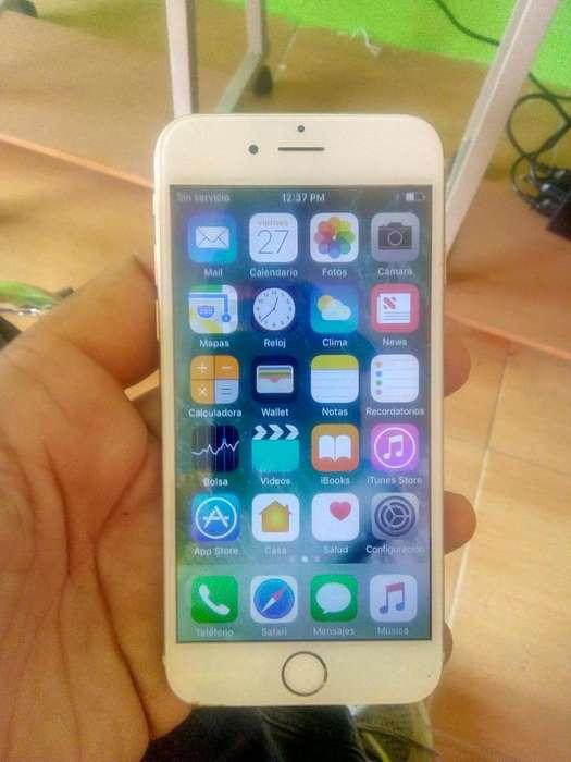 iPhone 6 De 64 Gb Sin Icloud 1 Mes De Uso