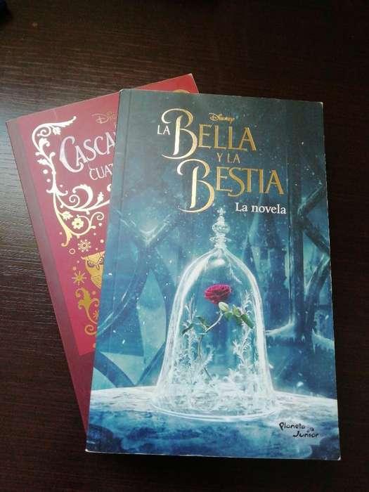 2 Libros de Películas de Disney