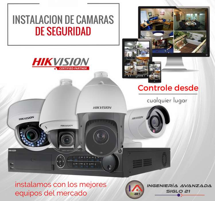 Venta y instalación de cámaras de seguridad Chia, Cajica, Zipaquira