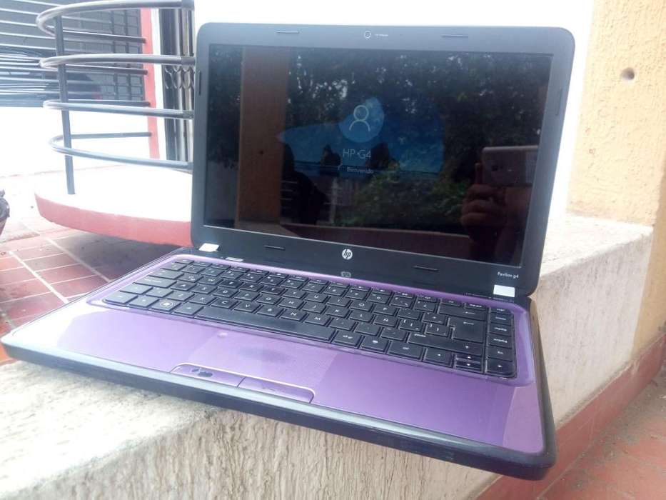 laptop portatil hp 4gb de ram 320gb de disco duro Morada...