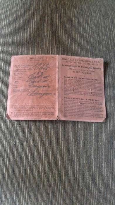 VENPERMUTO Tarjeta de identidad francesa