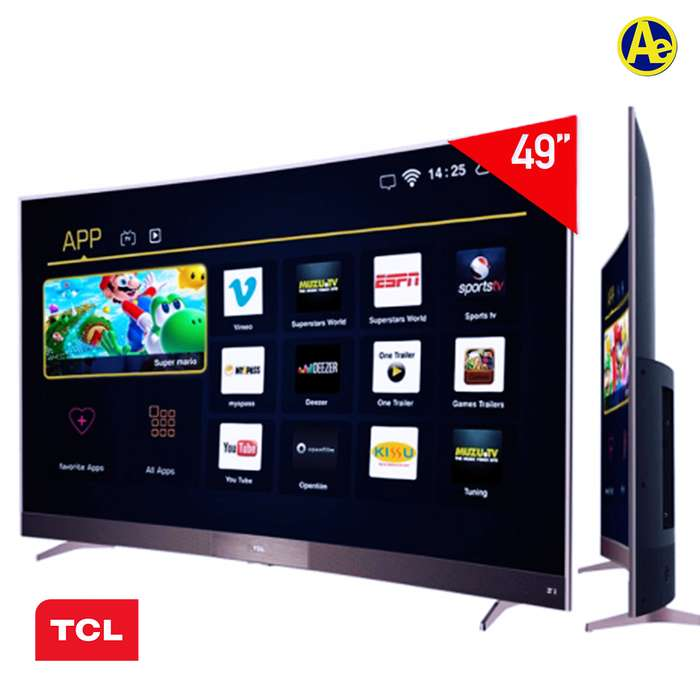 <strong>televisor</strong> SMART TV CURVE TCL 49