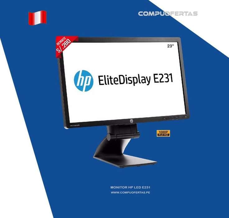 Monitor HP E231 Led de 23