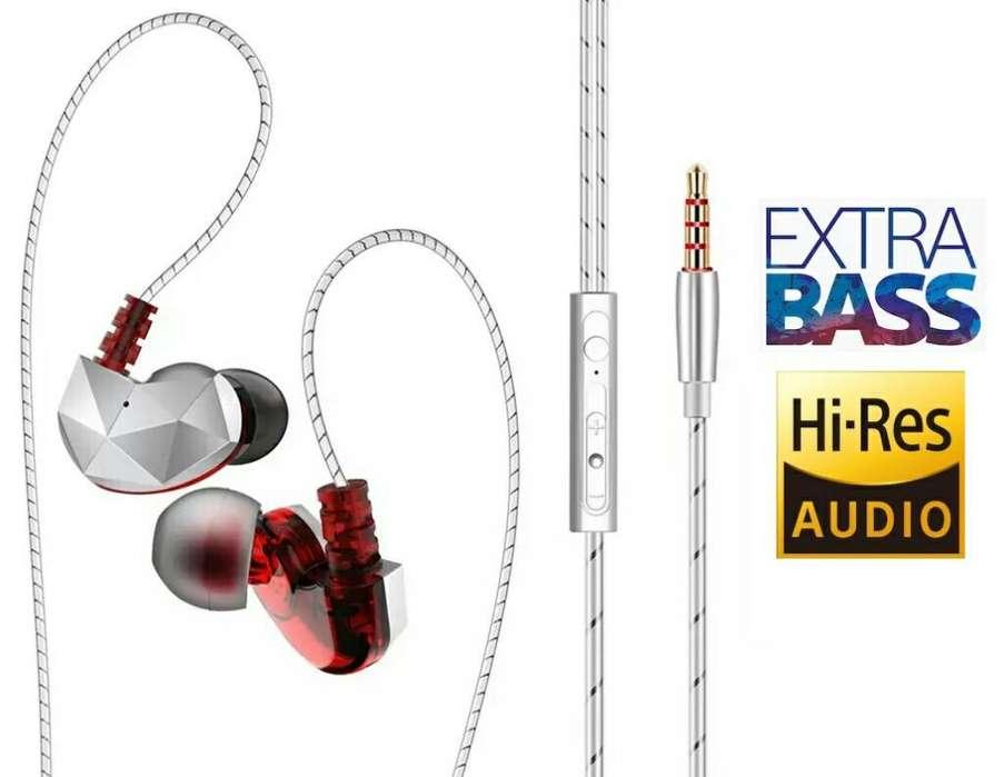 Audífonos Cableados Sonido Potente