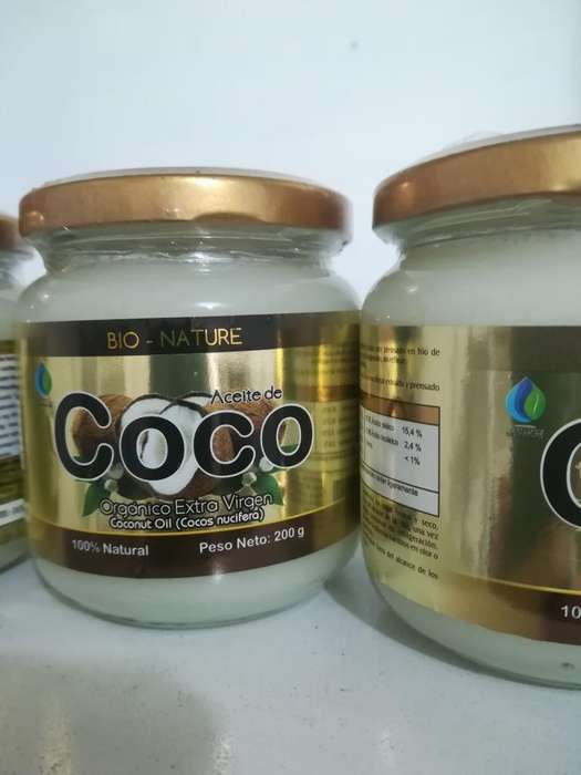 Aceite de Coco Extra Virgen 200 Ml Prens