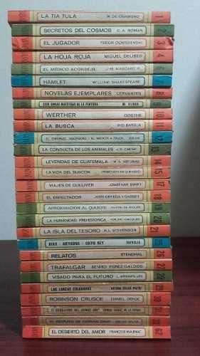 28 libros de biblioteca Salvat