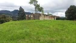 vendo precioso lote en guasca cerca al pueblo zona rural lista para edificar no necesita licencia  de construccion