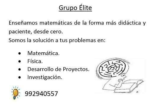 PROFESOR CLASES Y EJERCICIOS MATEMÁTICA