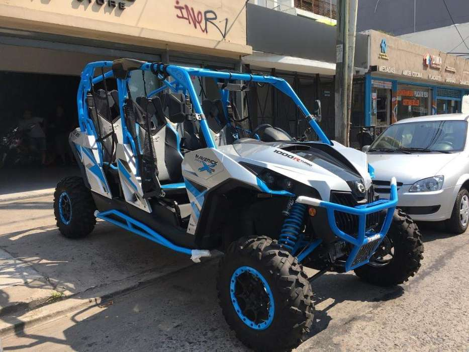 Utv Can Am1000turbo Maverick Xs 4 Pl