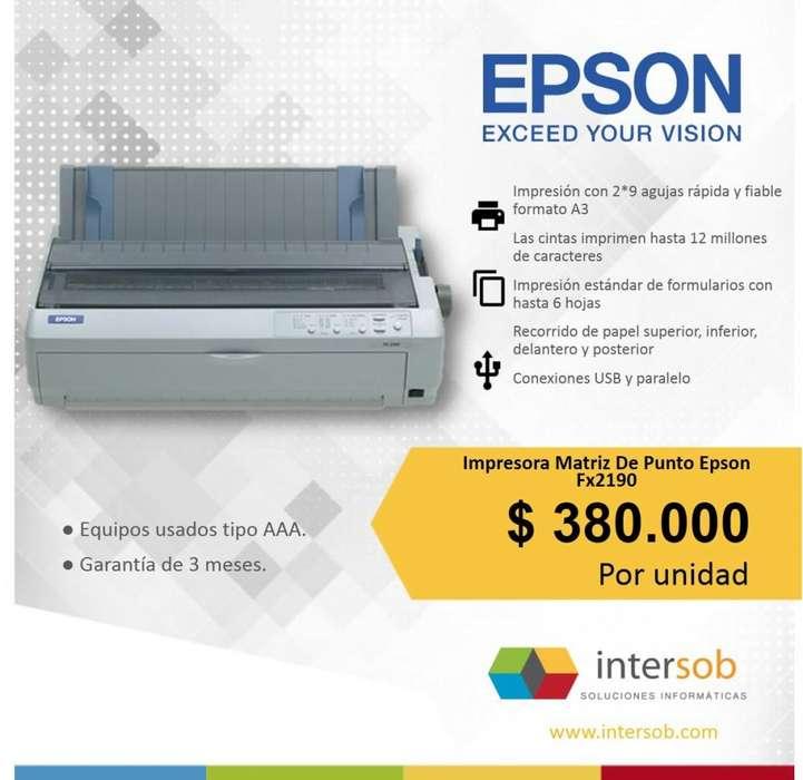 Impresora Matriz de Punto Epson