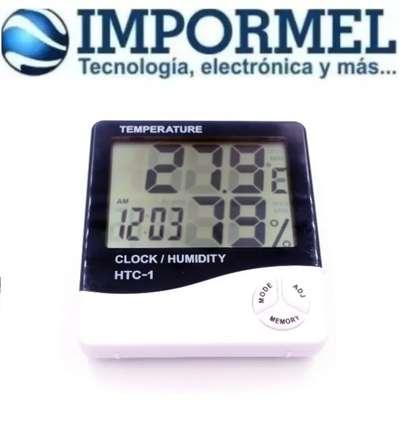 Termometro Digital Higrometro Htc 1 Medidor De Humedad Tv Audio Video 1101380069 Somos especialistas en instrumentación de medida. termometro digital higrometro htc 1