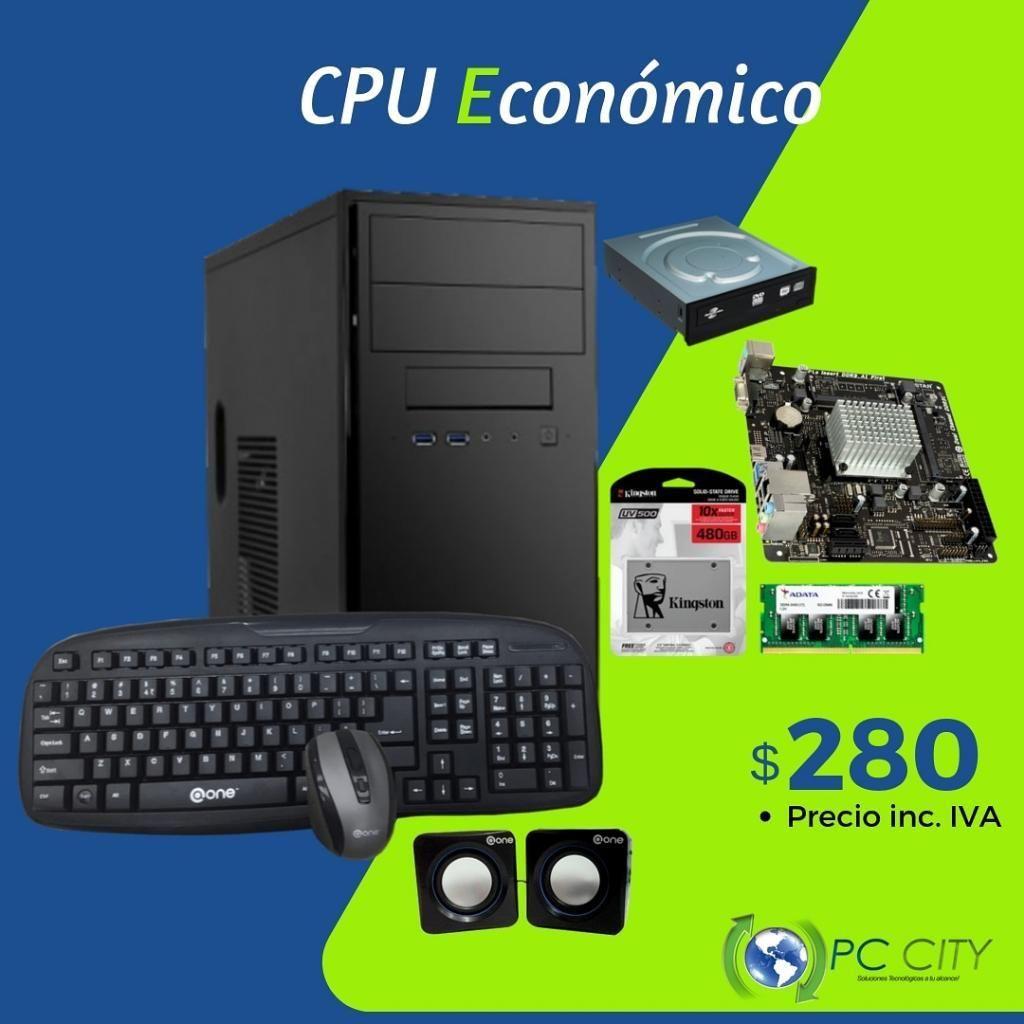 Super Cpu Económico con Ssd480