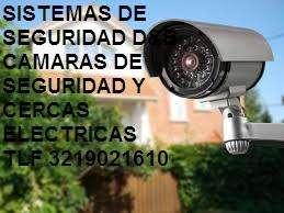 Cámaras Dé Seguridad Y Cercas Eléctricas con mas de 15 años de experiencia cel 3219021610